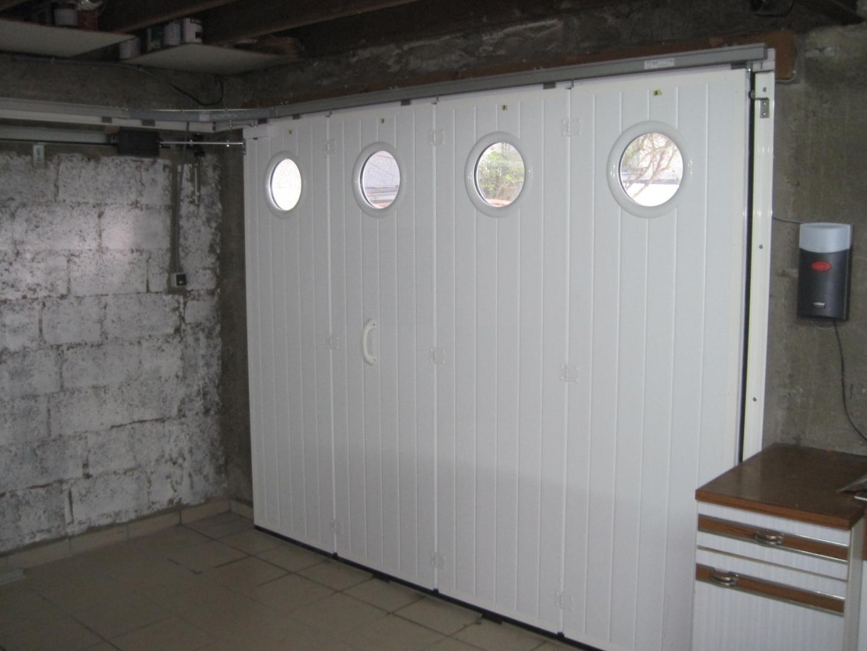 Porte De Garage Coulissante Motorisée Voletshop - Porte de garage coulissante electrique