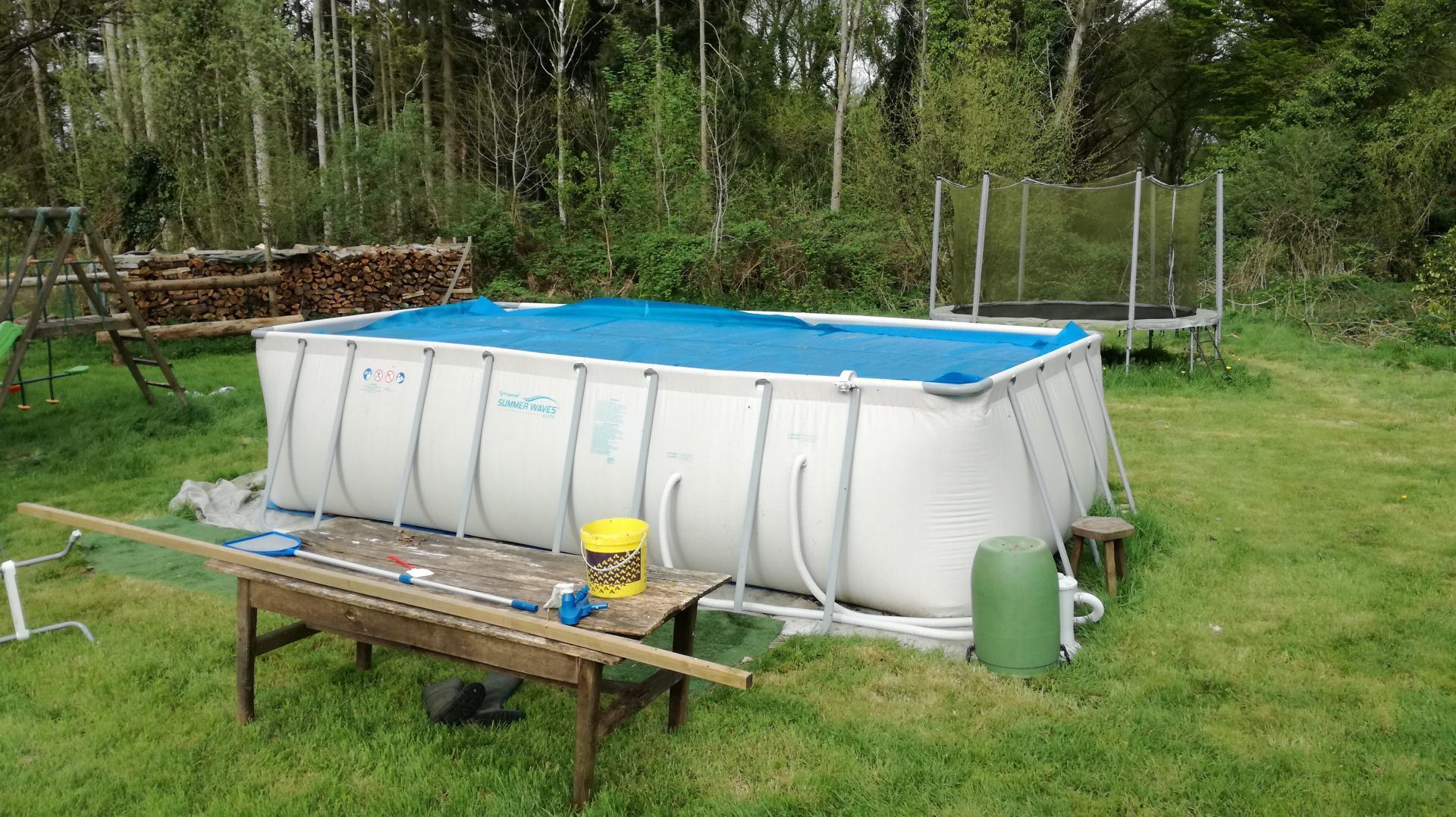 piscine tubulaire ludo 4 - 5.49 x 2.74 x 1.32 m